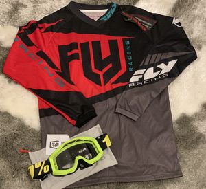 Youth motocross goggles and youth jersey for Sale in Cooper City, FL