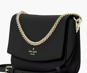 New Kate Spade laurel way Greer Crossbody in Black Saffiano Leather for Sale in Kent,  WA