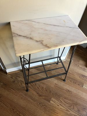 Small antique marble top table. Price reduced, must go! for Sale in Baltimore, MD