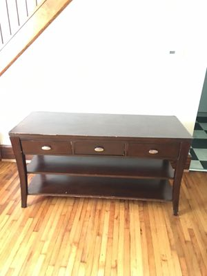 Solid Ashley 55-inch Tv Stand Furniture for Sale in Columbus, OH