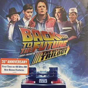 Back to The Future 4K Ultra HD+Blu Ray+Digital Code for Sale in Shawnee, OK