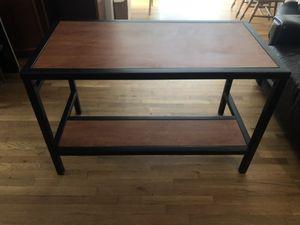 Metal & wood desk for Sale in San Luis Obispo, CA