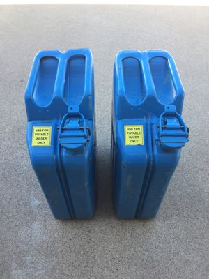 Wedco Water Jerrycans x2 for Sale in Scottsdale, AZ