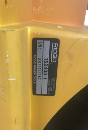RIDGID Table Saw (Used) good condition for Sale in Detroit, MI