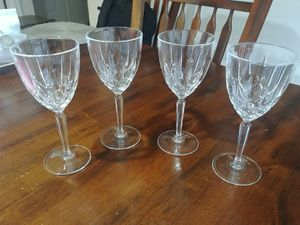 Waterford Marquis Sparkle Wine Glasses -- set of 4 for Sale in Lake Tapps, WA
