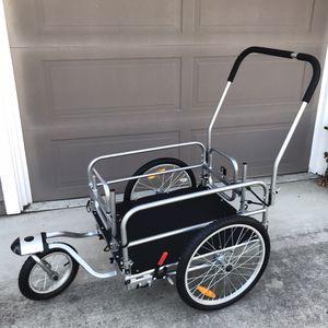 Cargo Beach Cart Stroller bike trailer for Sale in San Ramon, CA