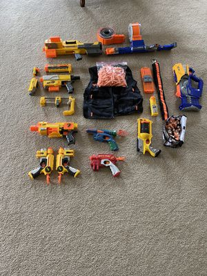 Nerf guns and accessories for Sale in Tinley Park, IL