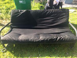 Futon black for Sale in Selma, CA