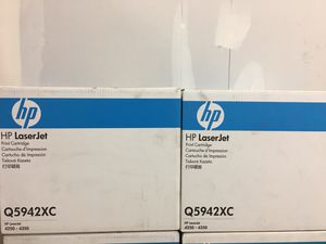 HP Laserjet Ink Cartridges Q5942xc for Sale in Puyallup, WA