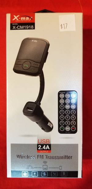 I have also available Bluetooth FM Transmitter , Car Aux Bluetooth and USB Bluetooth Bz4 for Sale in Moreno Valley, CA