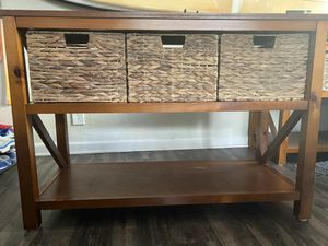Sonoma Goods for Life Cameron Console Table for Sale in Walnut Creek, CA
