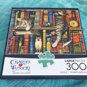 NEW!!! 300 Large Pieces Puzzle FREDERICK THE LITERATE for Sale in Torrance, CA