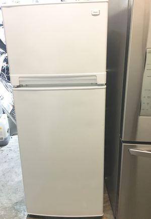 "TOP FREEZER REFRIGERATOR WHITE SHINY. SMALL FRIDGE PRFECT FOR A ROOM 24""W x 60""H for Sale in La Mirada, CA"