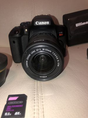 Canon T6i Bundle for Sale in Troy, IL