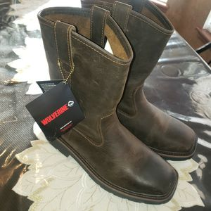 Wolverine Steel Toe Work Boots for Sale in Oklahoma City, OK