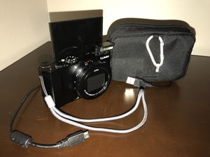 PANASONIC LUMIX LX10 4K Digital Camera, 20.1 Megapixel 1-Inch Sensor, 3X LEICA DC VARIO-SUMMILUX Lens, F1.4-2.8 Aperture, POWER O.I.S. Stabilization, for Sale in Little Rock, AR