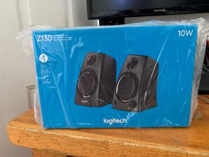 Logitech Z1 34 stereo sound computer speakers for Sale in Commerce, CA