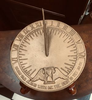 Vintage Sundial on Mahogany Stand. for Sale in Tampa, FL