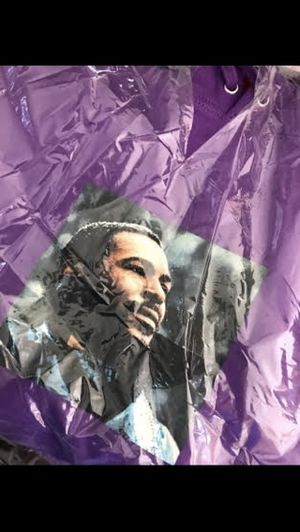 Supreme / Marvin Gaye purple hoodie size M for Sale in Las Vegas, NV