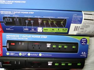 Brand new never used outlet power strip with surge protector for Sale in Poteau, OK