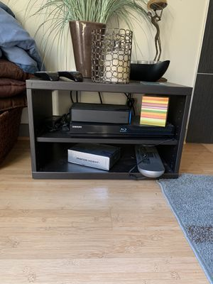 Black dvd/Comcast box shelf for next to tv.. or whatever you want to use it for for Sale in Seattle, WA
