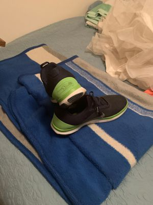 Seahawks shoes. Size12. Not worn much. $65.00 for Sale in Sunnyside, WA