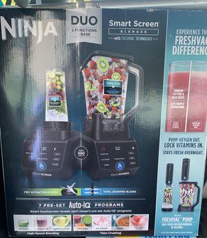 Ninja Duo Smart Screen Blender with freshvac for Sale in Crockett, CA