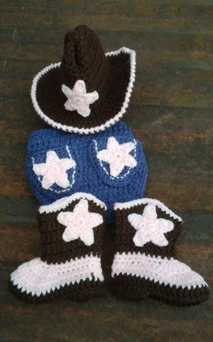 Handmade cowgirl baby outfit. for Sale in Fort Worth, TX