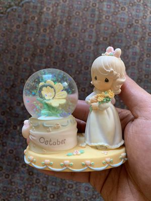 Precious moments snow globe for Sale in Portland, OR