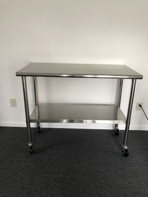 Stainless steel table for Sale in Toledo, OH