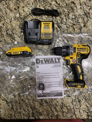 New 20v Dewalt XR Brushless Compact Drill Driver Kit for Sale in Norman, OK