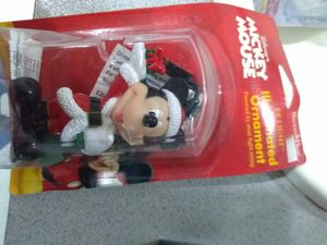 Mickey mouse collectible tree ornament for Sale in GOODLETTSVLLE, TN