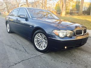 """$3500 is the down payment •• 2005 bmw 745li """" clean title """" camel leather for Sale in Washington, DC"""