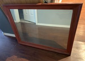 Espejo farm house red tone mirror shabby chic decor decoration 3ft by 2ft for Sale in Chandler, AZ