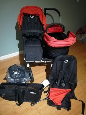 Bugaboo donkey duo twin stroller for Sale in Newark, CA
