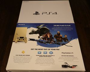Ps4 slim gold edition for Sale in Long Beach, CA