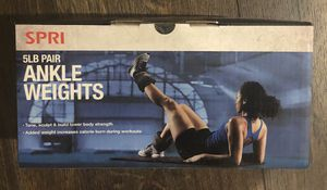Ankle weights - 5lbs pair (10lbs total) for Sale in Chicago, IL