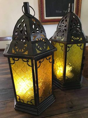Moroccan style lanterns . for Sale in Downey, CA