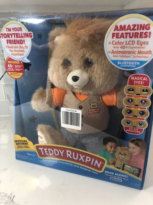 Teddy Ruxpin Story Time Bear for Sale in Tigard, OR
