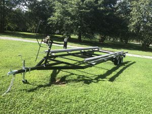Fully adjustable pontoon trailer for Sale in Maiden, NC