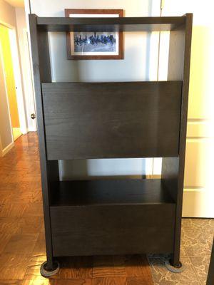 west elm Secretary Desk/Bookcase w/ File Drawer for Sale in Fort Lee, NJ