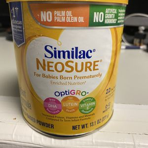 Similac Neosure 13.1 Oz Exp 08/01/2022 One unopened can. for Sale in Cuyahoga Heights, OH