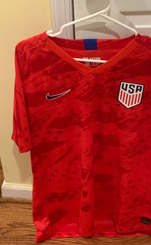 USA soccer red jersey men size xl for Sale in Silver Spring, MD