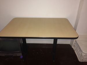 Wood metals restaurant table for Sale in Rockville, MD