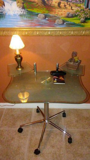 Beautiful Iron/Metal Glass Desk for Sale in Sebring, FL