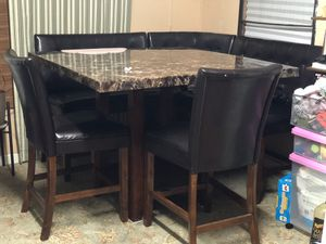 DMR bar height dining set for Sale in Alexandria, VA