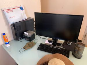 lenovo computer and dell screen good condition for Sale in San Diego, CA