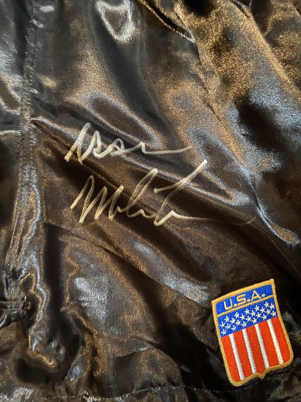 Mike Tyson WORN IN THE TREVOR BERBICK FIGHT !!