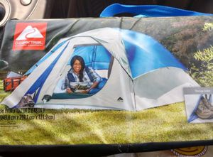 Brand new 4 person tent 8x8 ft, sealed waterproof rain fly, Coleman SunDome Ozark trails dome Tent for Sale in San Diego, CA