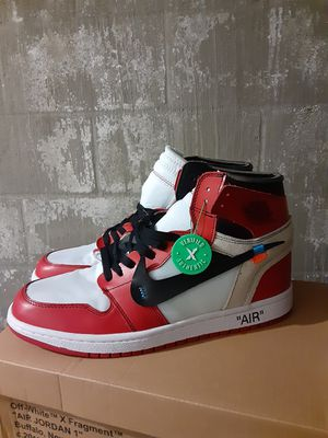 Jordan 1 x Off White size 9.5, 10 & 11 mens for Sale in Gardena, CA